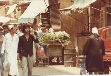 Cairo street vendor