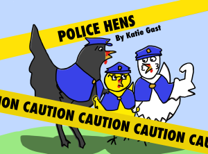 Police Hens iBook